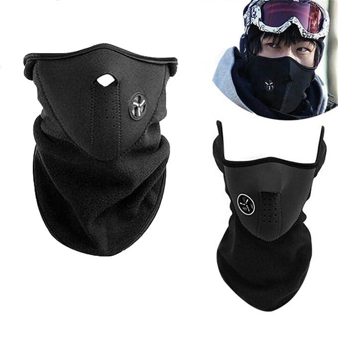 Promisy Face Nose Neck Ski Snowboard Bike Motorcycle Mask Warm Windproof