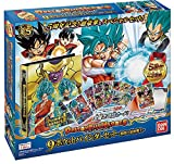 Dragon Ball Heroes 9 pocket Binder Set - Super God warrior of fierce fight - by Bandai