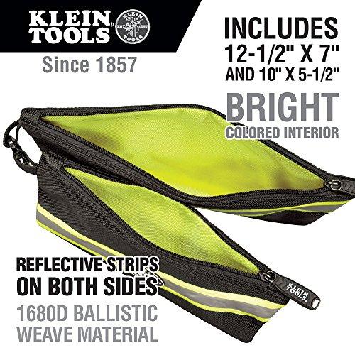 Buy klein tools canvas zipper bag
