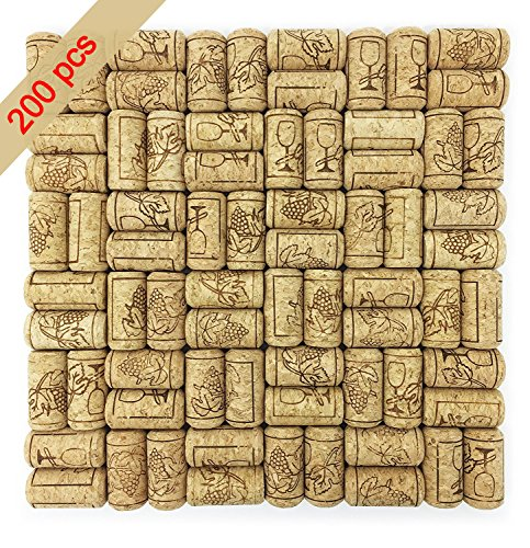 #8 Straight Wine Corks for Crafts, 7/8