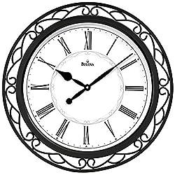 Easton Wrought Iron Wall Clock
