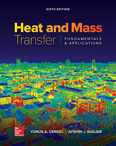 Loose Leaf for Heat and Mass Transfer: Fundamentals and Applications