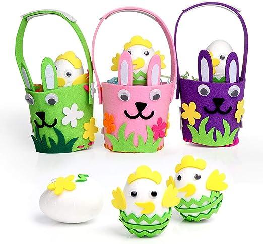 12 Foam Easter Crown Bonnet Making Craft Kit for KidsChildrens Spring Crafts