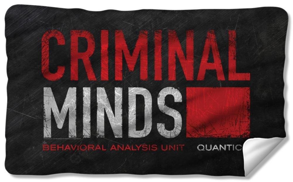 Criminal Minds - Logo Fleece Blanket 57 x 35in