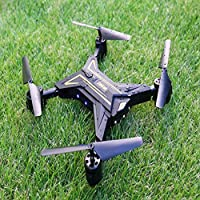 Owill KY601 Foldable Headless RC Drone 2.4Ghz 4CH 6Axis Gyro RC Quadcopter Without Camera (Gold)