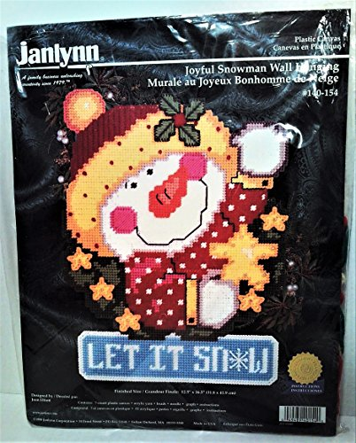 Janlynn Snowman Let It Snow Plastic Canvas Kit: