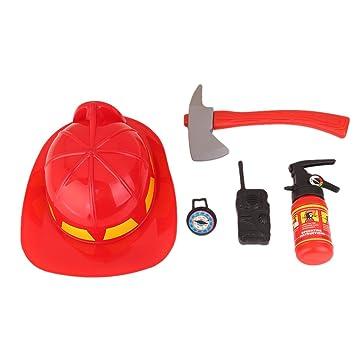 herramientas de un bombero