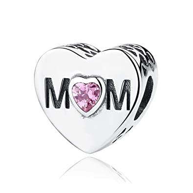 7e28c8034f8 Authentic Mother Heart Charm