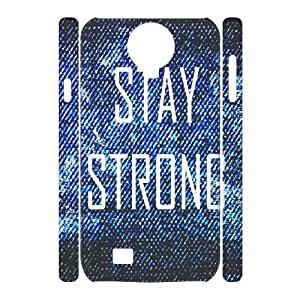 Custom New Case for SamSung Galaxy S4 I9500 3D, Stay Strong Phone Case - HL-R655976