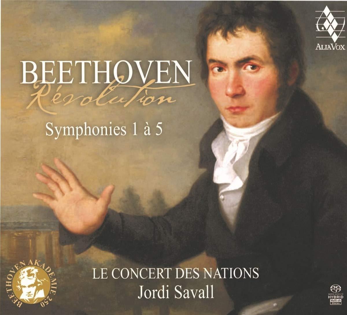 Beethoven Revolution : Jordi Savall / Concert des Nations, Jordi Savall /  Concert des Nations: Amazon.fr: Musique