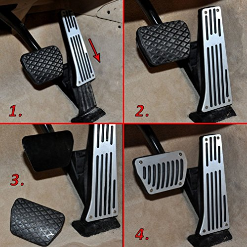 No Drill Gas Brake Pedal Covers For Bmw E90 E91 F10 F07