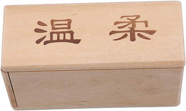 DeliV Caja de madera Puzzle Luban Lock Juguete Puzzle Box para ...