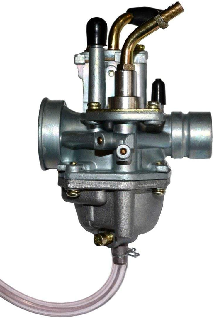 Aquiver Auto Parts New Carburetor for Eton Beamer II 50 Moped Scooter 50cc Manual Choke Carb