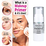PHOERA Makeup Primer, Firstfly Long Lasting Isolated Hydrating Makeup Base Face Primer Cosmetic Beauty Foundation…