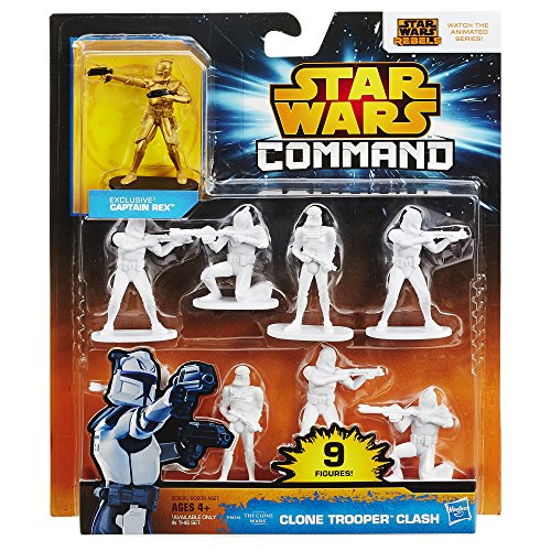 Star Wars Command Clone Trooper Clash Pack (Air Command Action Figure)