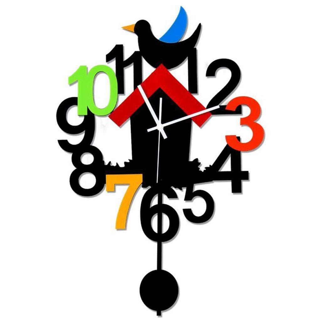 GAOLILI モダンファッションリビングルームアートウォールクロックミュートスイングクロックパーソナライズクリエイティブクォーツ時計 ( サイズ さいず : 40*60センチメートル ) B07C3R66CR40*60センチメートル