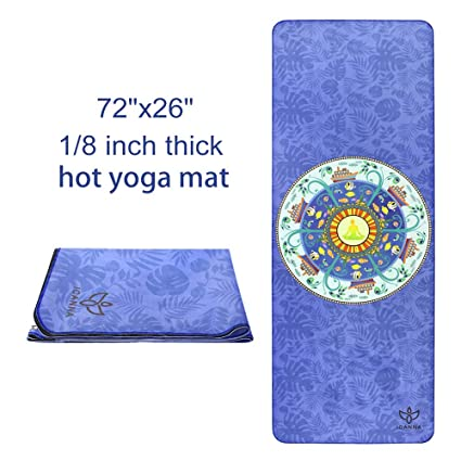 Amazon.com: Toalla para yoga ICANNA Bikram & Hot – con ...
