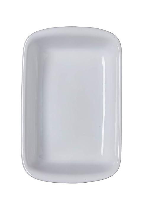Pyrex Supreme Fuente Para Horno, Blanco, 30X20Cm: Amazon.es: Hogar