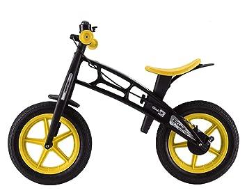 KuanDar Sports Bicicleta De Equilibrio Deportivo De 12 Pulgadas ...