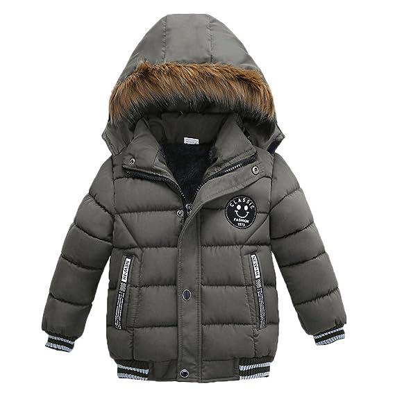 1cd1e8307f59 Usstore Winter Season Fashion Kids Coat Boys Girls Cotton-Padded ...