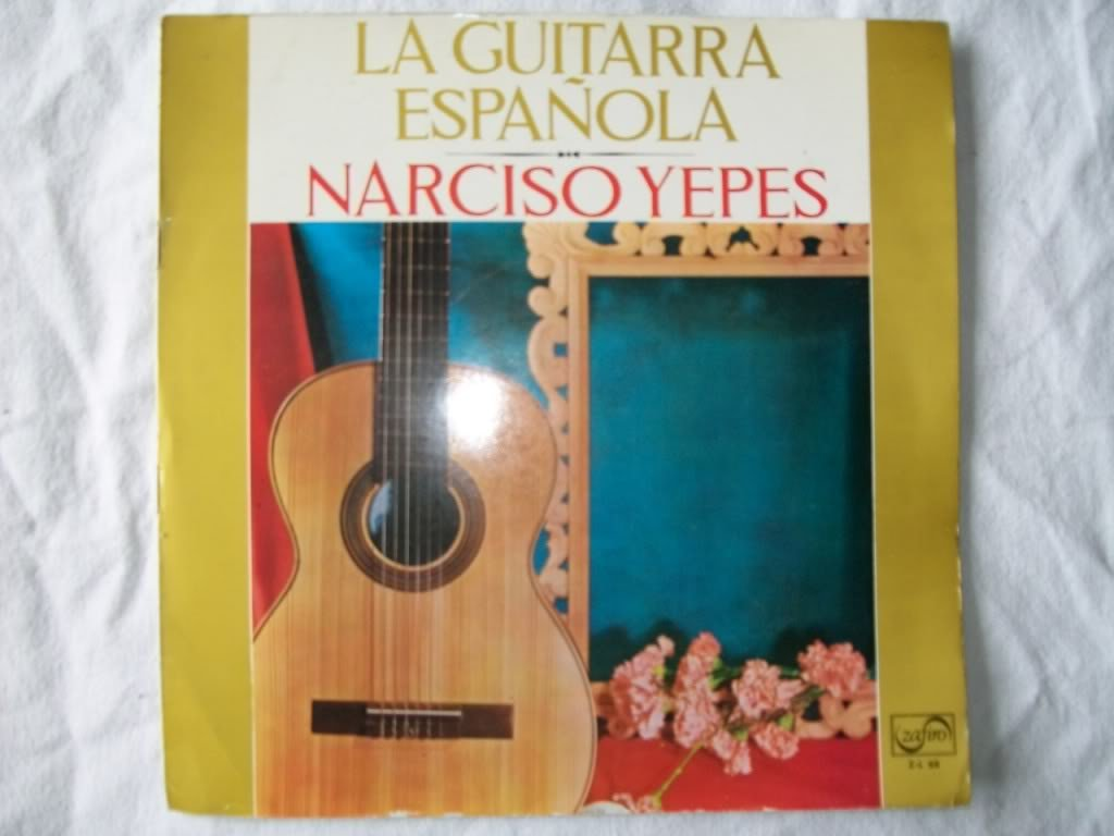 NARCISO YEPES La Guitarra Espanola LP: Narciso Yepes: Amazon.es ...