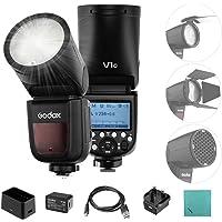 Godox V1C Flash Cámara Profesional Speedlite Speedlight de Cabeza Redonda inalámbrica 2.4G compatible con Canon EOS…