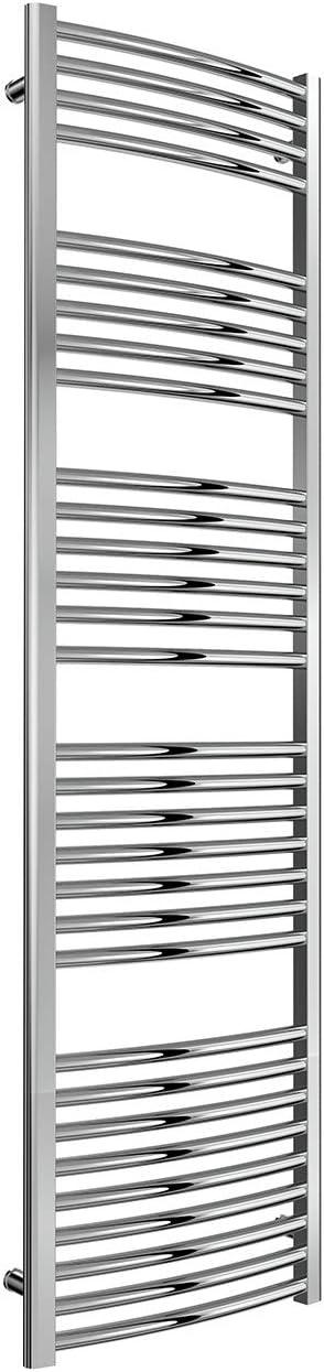 cromo Toallero de radiador con calefacci/ón central Reina