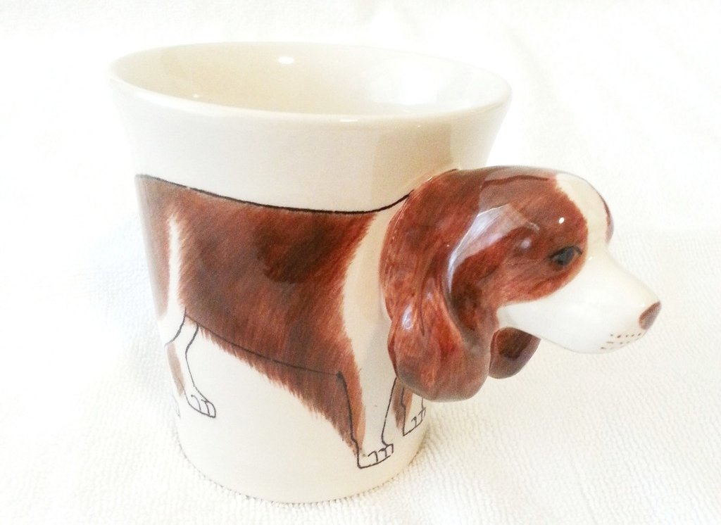 Collectable handmade animal mug mugs ceramic animal animals gifts animal mug