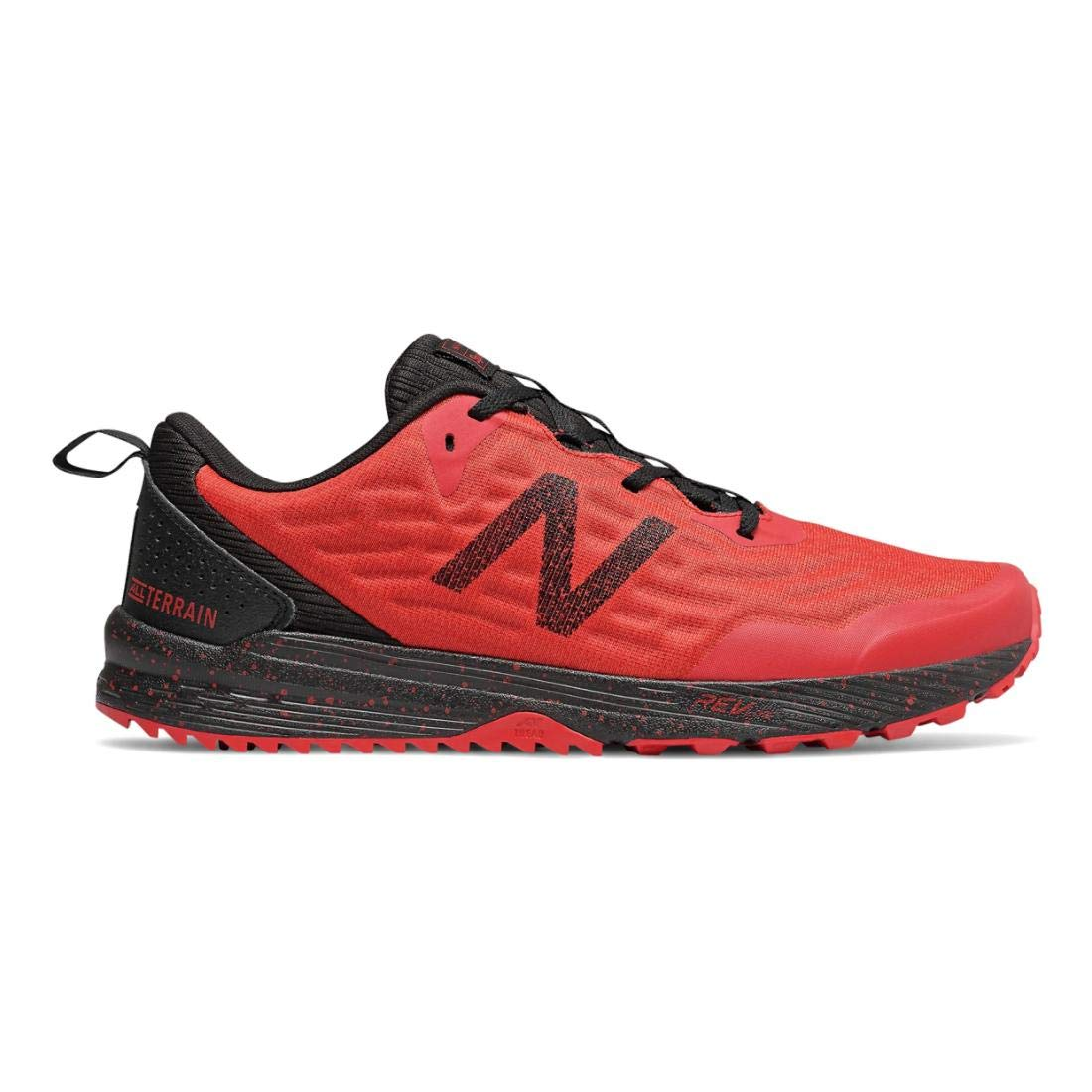 New Balance Men's Nitrel V3 Soccer Shoe, RED/Black, 12 D US by New Balance