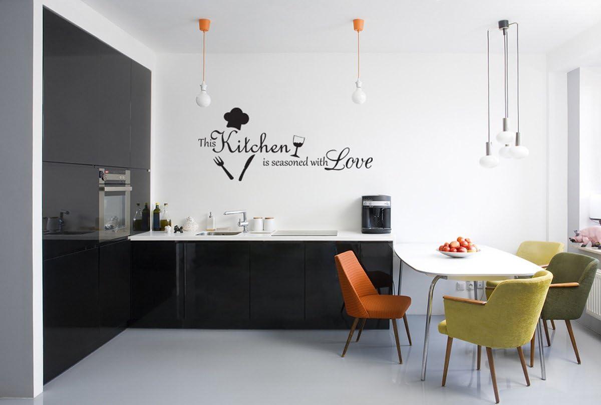200cm Fashion Kitchen Wall Stickers Art Dining Room Waterproof Decals DIY  45