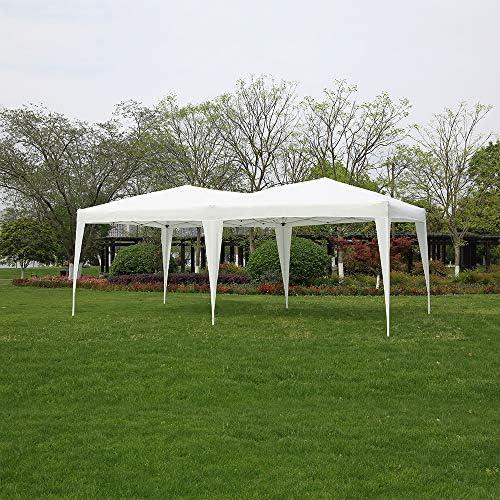 Panana - Carpas Cenadores 6x3m para Jardín Terraza Fiesta Eventos Cumpleaños Bodas Pabellón Gazebo Plegable ...
