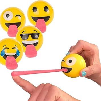Pelota Saltarina Emoticono: Amazon.es: Juguetes y juegos