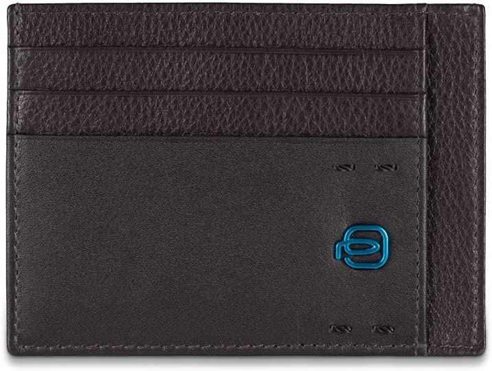 Piquadro PP2762P15 Caso de tarjetas de crédito, color Azul