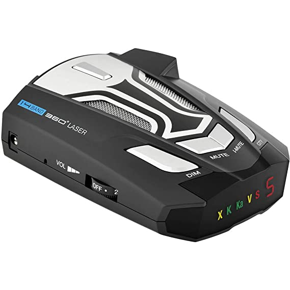 Amazon.com: Cobra SPX955 Radar Detector 14 Band 360deg Laser w Suction Mount and Power Adapter: Cell Phones & Accessories