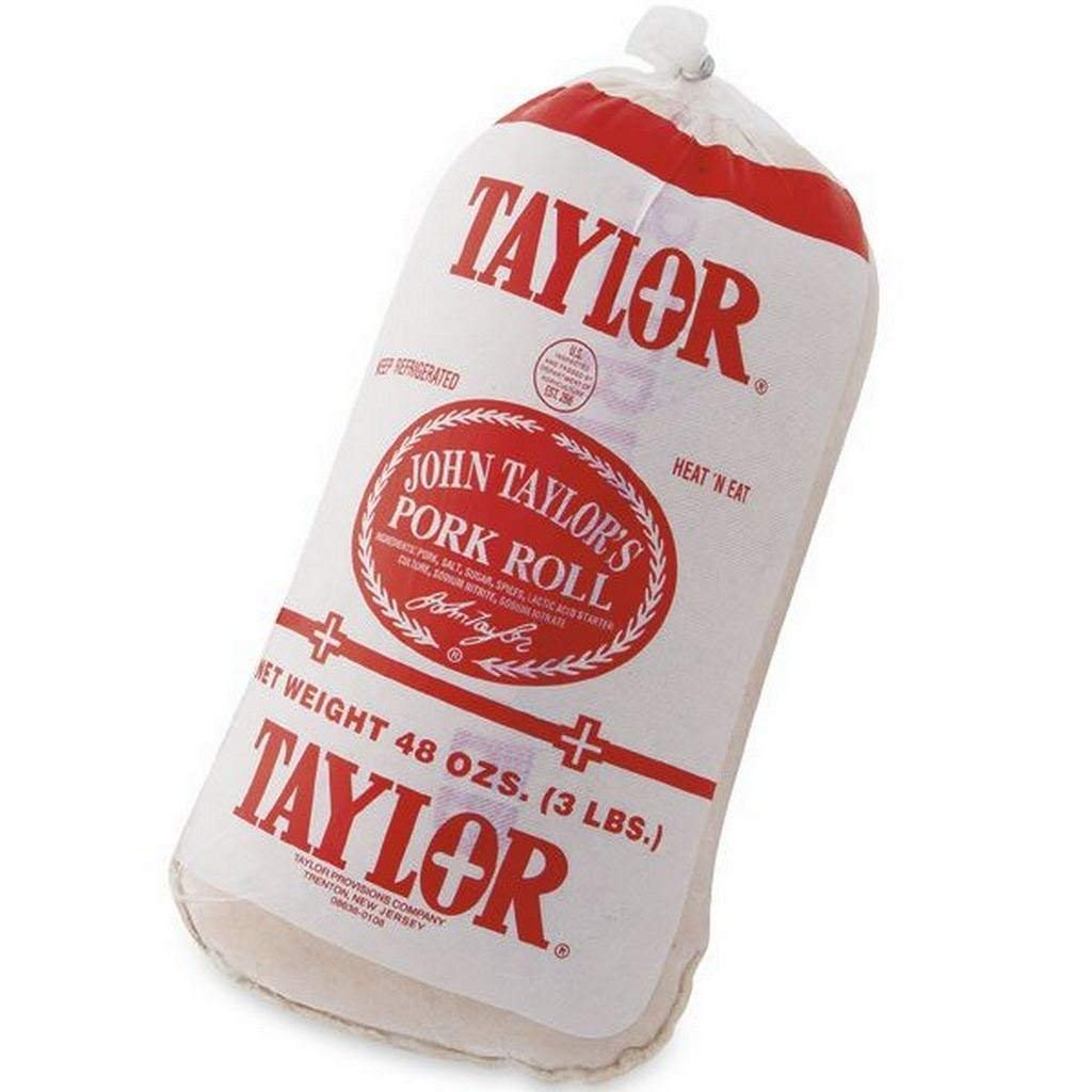 Taylor Pork Roll Ham Breakfast Meat - 3 Pounds (48 Ounces)