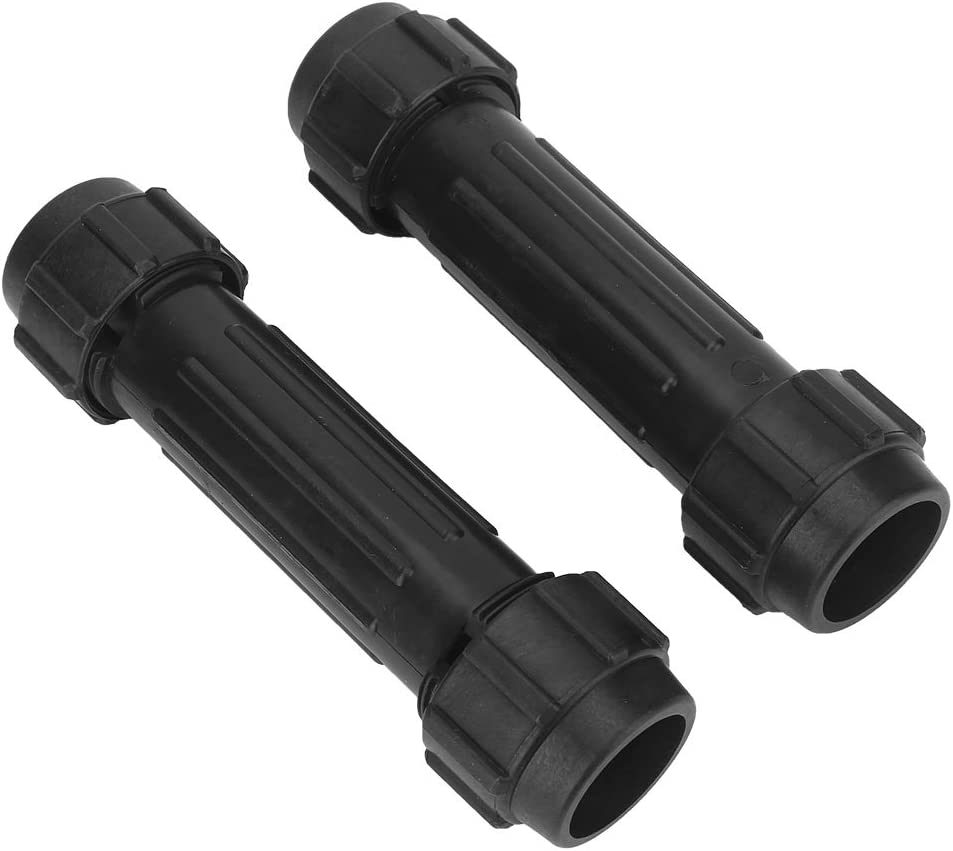 Plastic Kayak Paddle Connectors Oars Connectors Screw Joint for Inflatable Boat Fishing Boat Kayak Canoe 2Pcs Paddles Connector