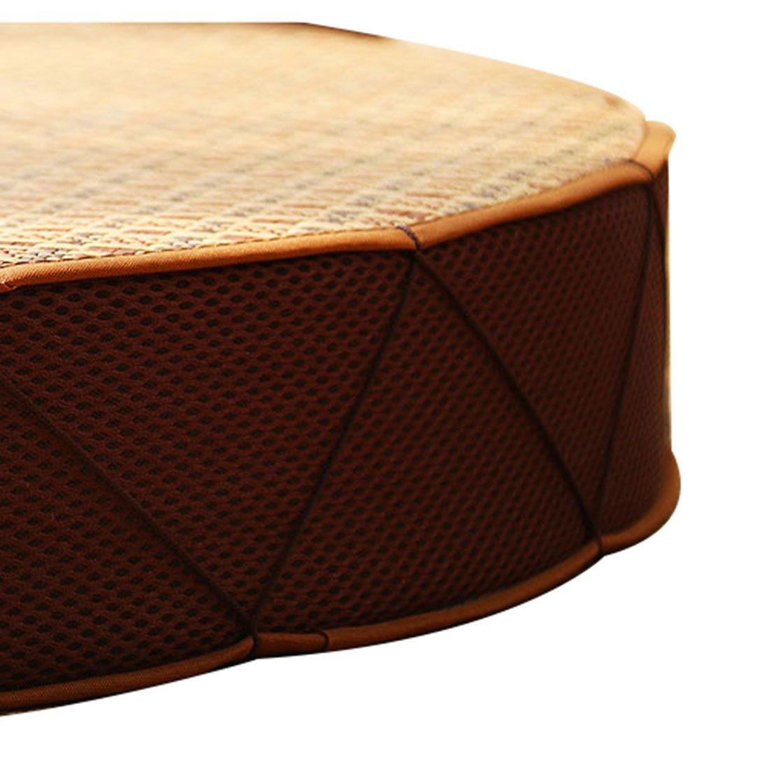 Round Wood Tree Soft Plush Chair Seat Cushion Stump Shaped Pillow 11.8x1.6inch by Fandim Fly (Image #5)