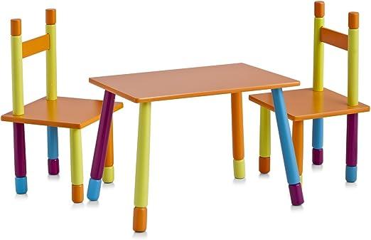 Zeller 13455 Color - Juego de Mesa y sillas Infantiles (Tablero DM ...