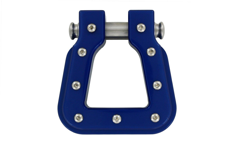 AMI 8802P Polished Square D-Ring Billet Hook