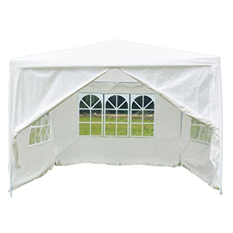 Z ZTDM Wedding Party Tent 10x10 Outdoor White Canopy Screen Sun Shelters Houses Gazebos Heavy Duty  sc 1 st  Amazon.com & Amazon.com : Z ZTDM Wedding Party Tent 10x10 Outdoor White Canopy ...