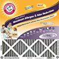 Arm & Hammer AF-AH21020.4 Maximum Allergen and Odor Reduction 10-Inch by 20-Inch by 1-Inch Air Filter, 4-Pack