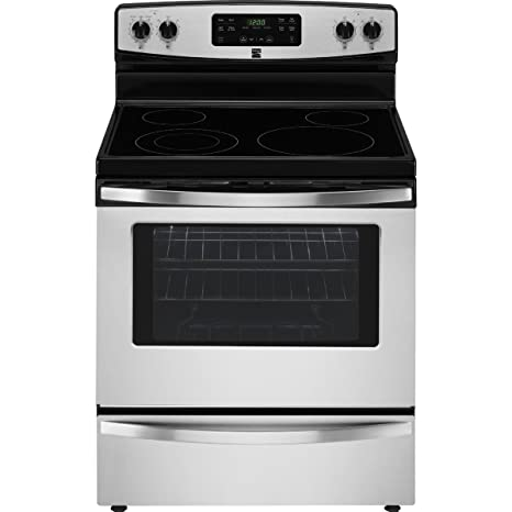 amazon com kenmore 94173 5 3 cu ft self clean electric range in rh amazon com Kenmore Electric Stove Kenmore Gas Stove