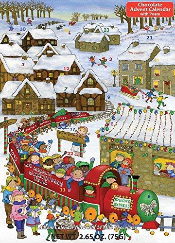 Santa's Express Chocolate Advent Calendar & Poem,2.65 -