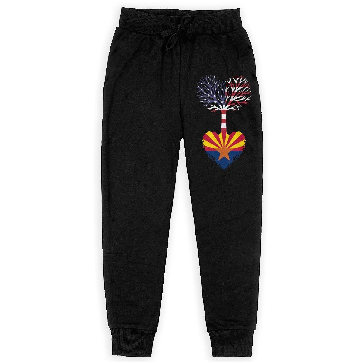 Teenager Fleece Pants for Teenager Boys American Grown Arizona Root Soft//Cozy Sweatpants