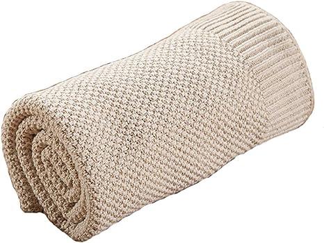 Manta Bebe Recien Nacido, manta tejida para bebés y mantas cómodas ...