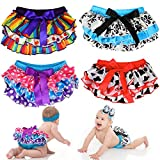 juDanzy Satin Diaper Covers bloomers in a Variety of colors and sizes (6-24 Months, 4 pack Set 3)