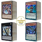 REALGOODEAL YUGIOH MYSTERY BOX - Bronze Edition - 5 Random Yugioh Booster packs -1 Yugioh Deck (no box) - 51 Yugioh Trading Cards Lot - Free Exclusive Realgoodeal Yugioh Sleeves and Deck Box-1 Figure