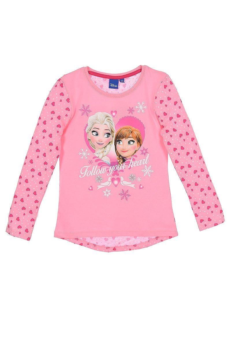 Die Eisk/önigin Frozen Langarmshirt M/ädchen Anna und ELSA