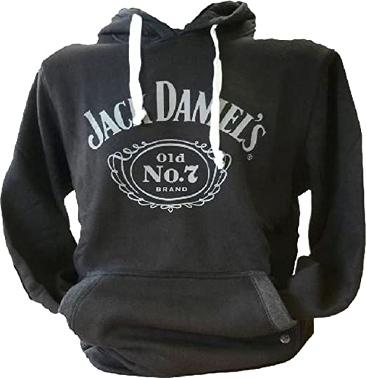 337b611fe16 Jack Daniel New Classic Old No. 7 Hoodie Casual Wear Front Pocket ...