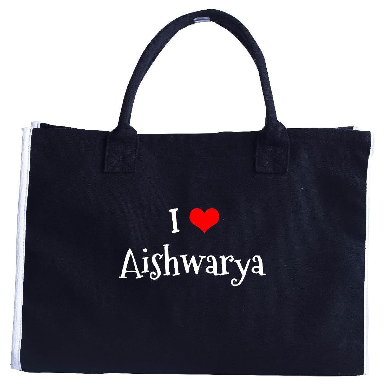 I Love Aishwarya. Funny Gift - Fashion Tote Bag